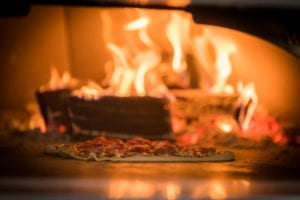 Wood Fire Oven At The Italian Kitchen