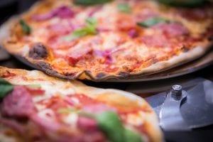 Pizza At The Italian Kitchen