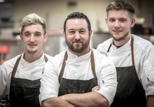 the italian kitchen chef team