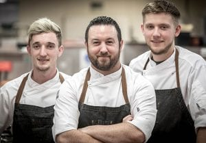 The kitchen team at the italian kitchen north dublin