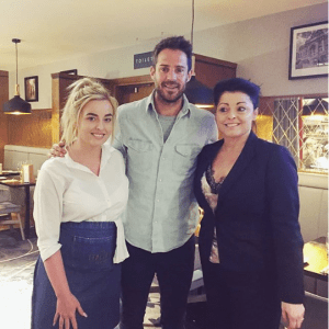 Jamie Redknapp at the Italian Kitchen in Dublin