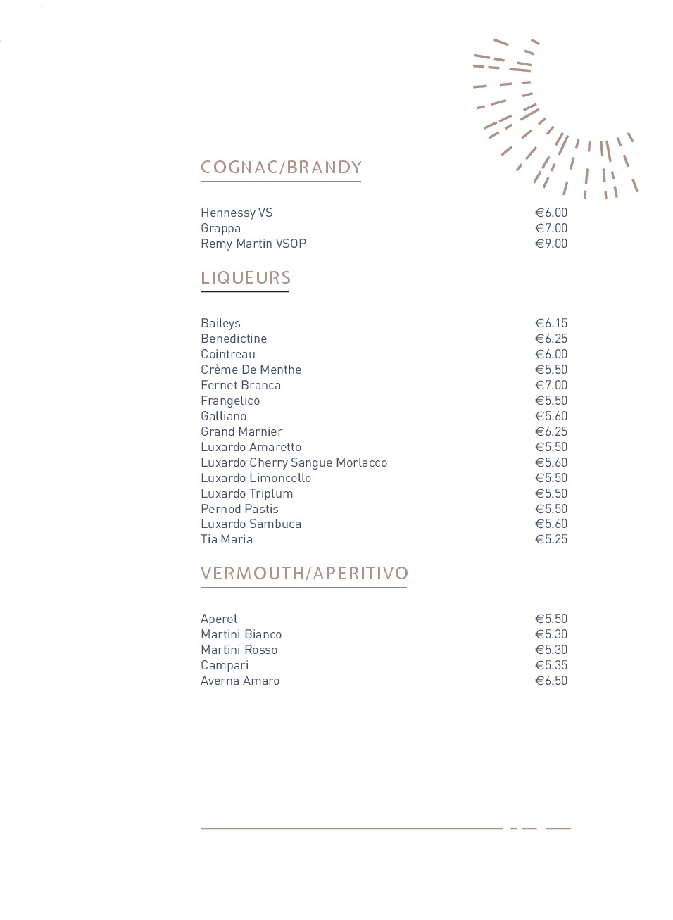 Drinks menu pg5