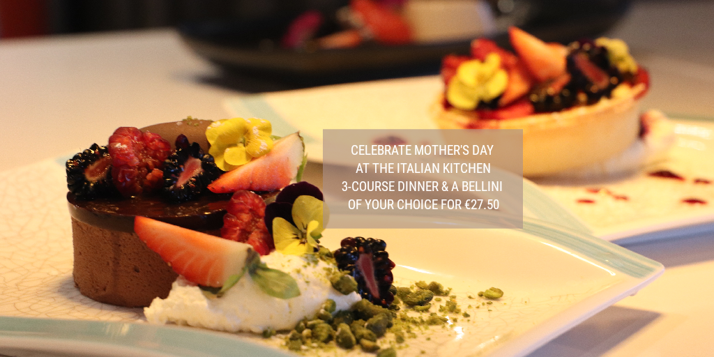 Mother's day special at the Italian kitchen