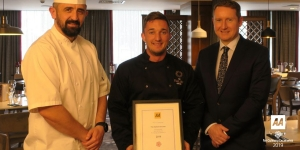 Award winning chefs at the Italian Kitchen