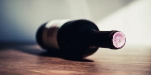 Bottle of Italian Red Wine