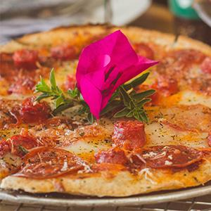 Pepperoni Pizza Italian Kitchen